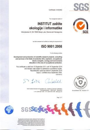 SGS sertifikat